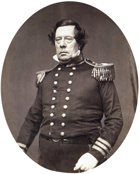 Famous Birthdays Today: 1794 -Commodore Matthew C. Perry.
