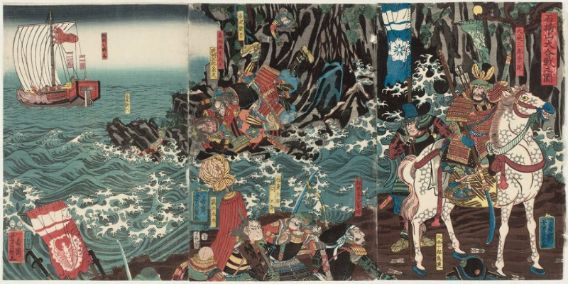 Historical Events Today: 1180 – Battle of Ishibashiyama in Japan!